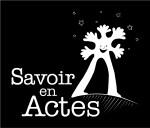 Logo Savoir en Actes Noir