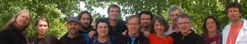 Portrait de famille gesticulants Gaillac 2013