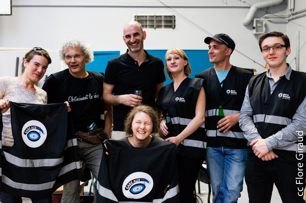 """Gare Saint Paul Remix Avril 2015 - L'équipe """"Gare aux vélos !"""""""