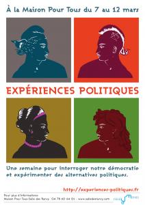 du 7 au 12 mars 2016 à la MPT des Rancy à Lyon