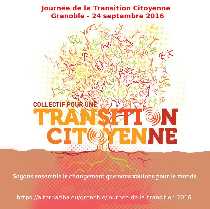 Journée de la Transition Grenoble 24 Sept 2016