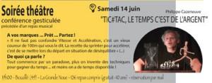 Annonce 14 juin Soirées de l'Arbre Bleu (Bouzillé-49)