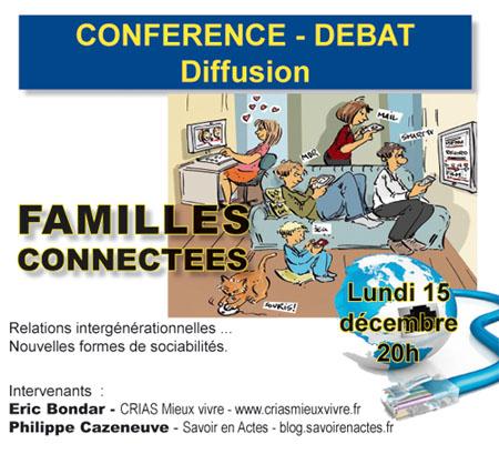 Familles connectées – Conférence-débat (Lyon 8e)
