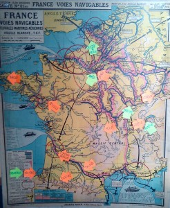 Carte de France Interventions Savoir en Actes