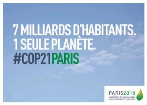 Affiche COP21Paris