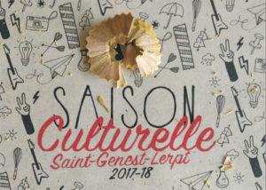 Saison Culturelle 2017-18 Saint Genest Lerpt