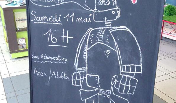 Printemps du Numérique à Pontault-Combault -De quelle Humanité le Robot est-il l'Avenir ?