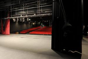 Depuis la scène du Théâtre Interlude à Cholet
