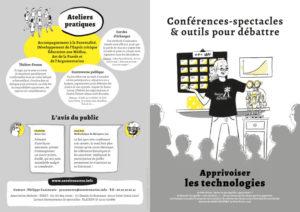 """couverture Plaquette """"Apprivoiser les technologies"""" - Savoir en Actes - Octobre 2020"""