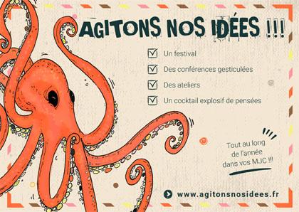 Agitons nos idées - Festival 2021-22 - Lyon & environs